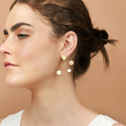 Ana Luisa Earrings Statement Earrings Peggy Mobile Gold