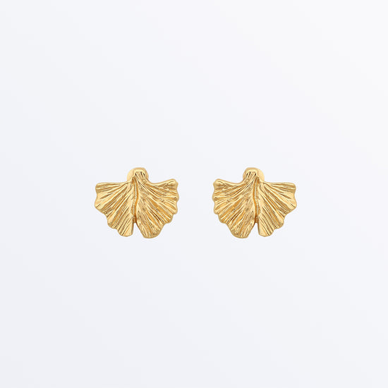 Ana Luisa Earrings Stud Earrings Ginko Biloba Earrings Ginkgo