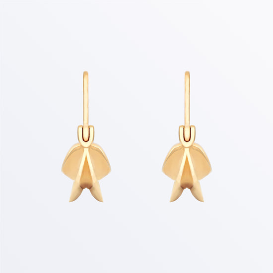 Ana Luisa Earrings  Studs Delicate Earrigns Fulani Gold Earrings  Joyce Gold