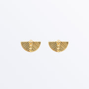 Ana Luisa Earrings Studs Delicate Earrings Fan Earrings Gaia