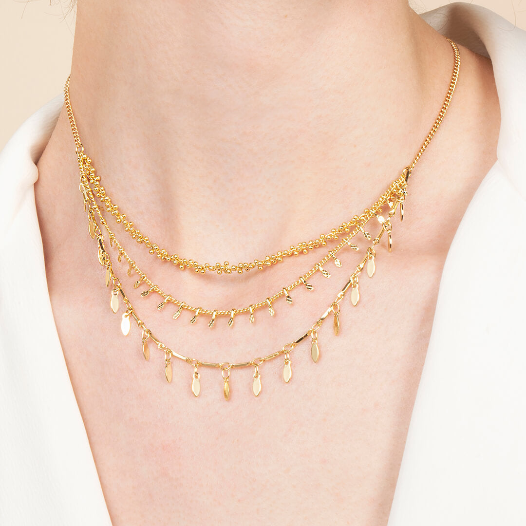 Ana Luisa Necklace Layered Necklace Alexa Gold