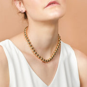 Ana Luisa Necklace Layered Necklaces Gold Ball Necklace Aurora