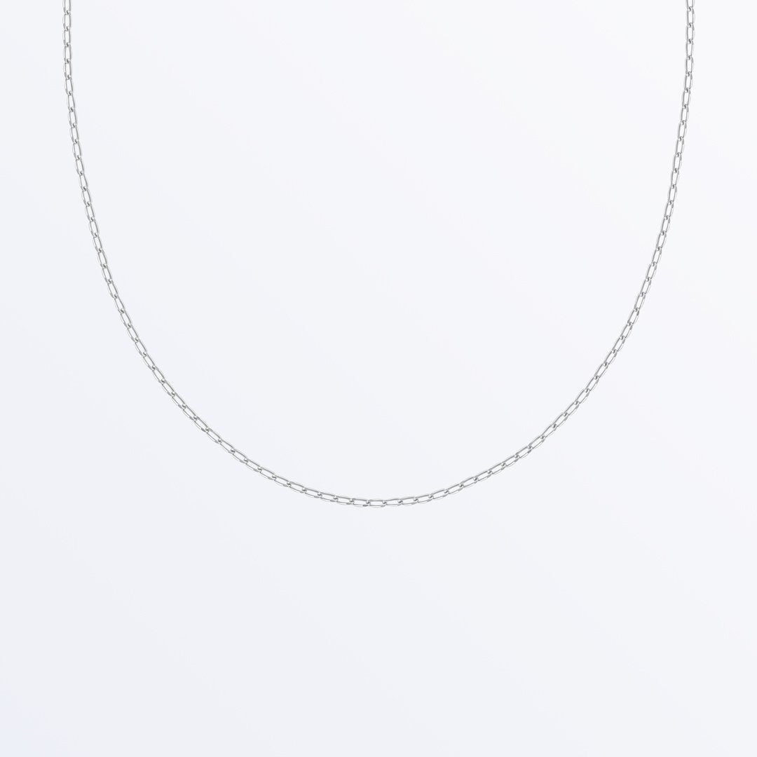 Ana Luisa Necklaces Chain Necklaces Silver Chain Necklace Becky Silver