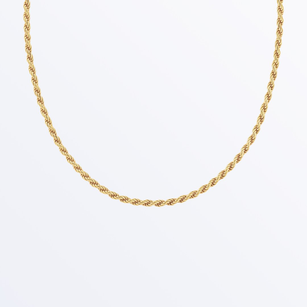 Ana Luisa Necklaces Gold Chain Necklace Zephir Gold