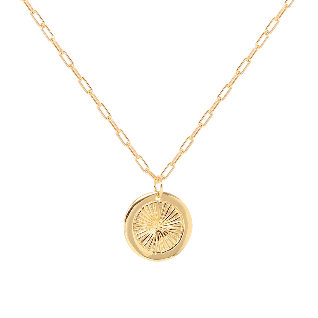 Ana Luisa Necklaces Layered Necklaces Coin Daria Gold