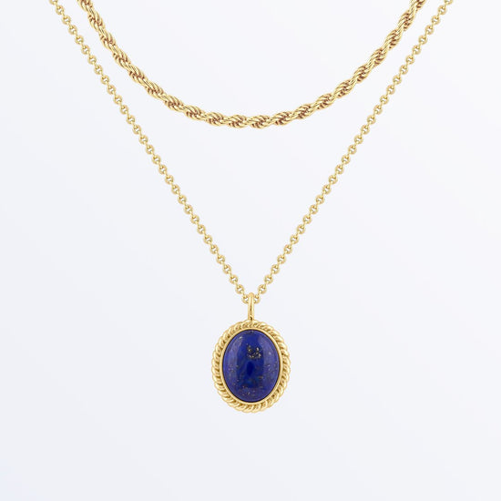 Ana Luisa Necklaces Layered Necklaces Gemstone Necklace Set Enora Gold