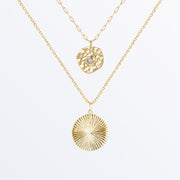 Ana Luisa Necklaces Layered Necklaces Moonstone Necklace Set Sonia Gold