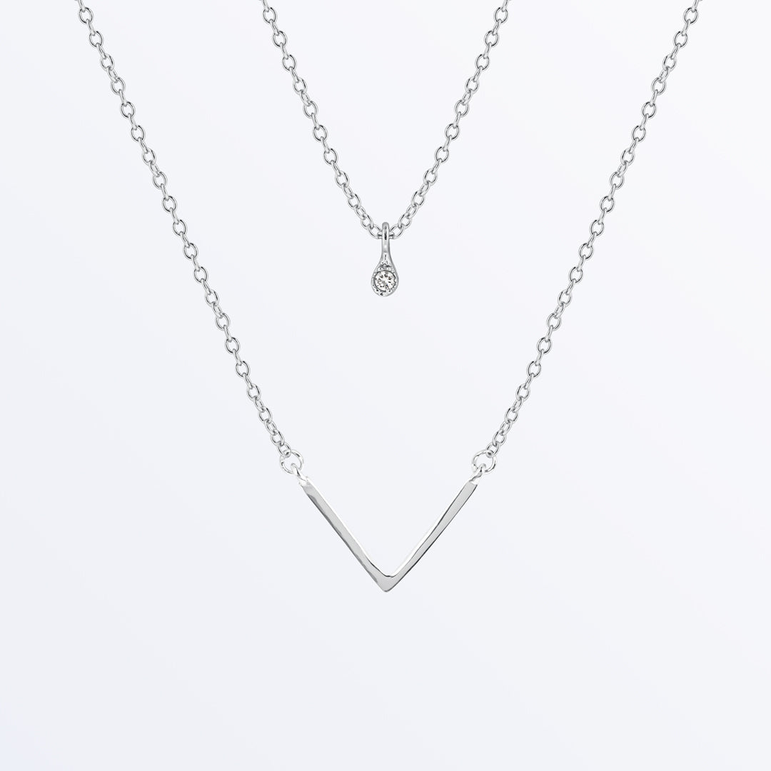 Ana Luisa Necklaces Layered Necklaces Nicole Silver