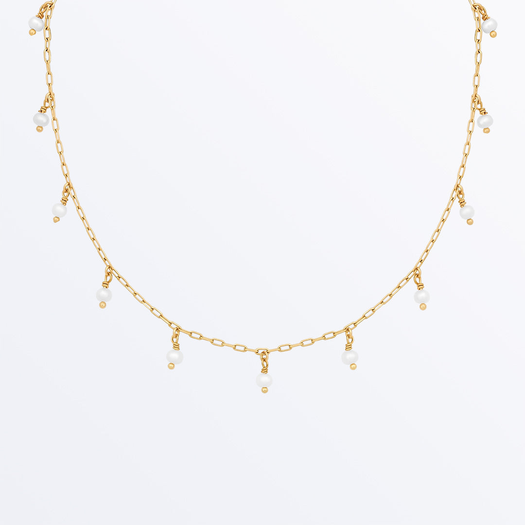 Ana Luisa Necklaces Pearl Necklaces Pearl Beads Necklace  Simona Gold.