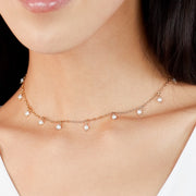 Ana Luisa Necklaces Pearl Necklaces Pearl Beads Necklace Simona Gold