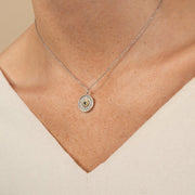 Birthstone Necklace - Black Sapphire September