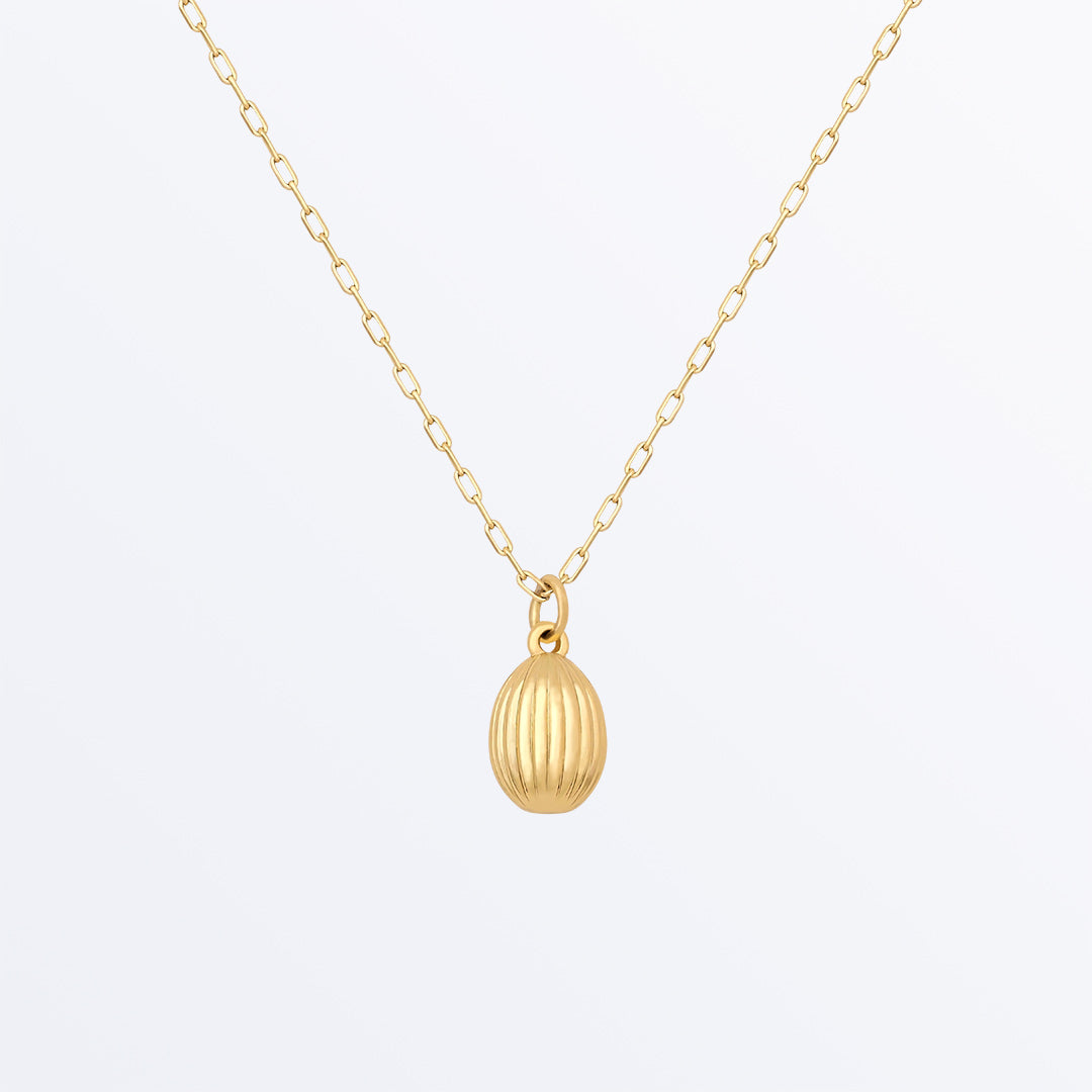 Ana Luisa Necklaces Pendant Necklaces Gold Egg Necklace Natalia