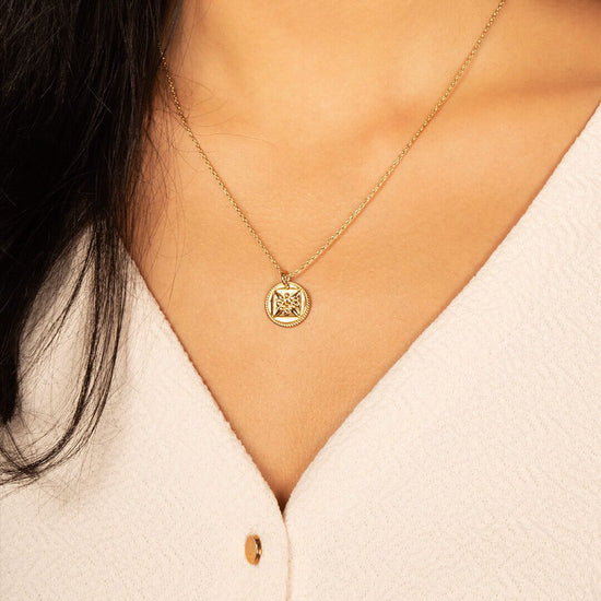 Ana Luisa Necklaces Pendant Necklaces Good Luck Necklace Gold