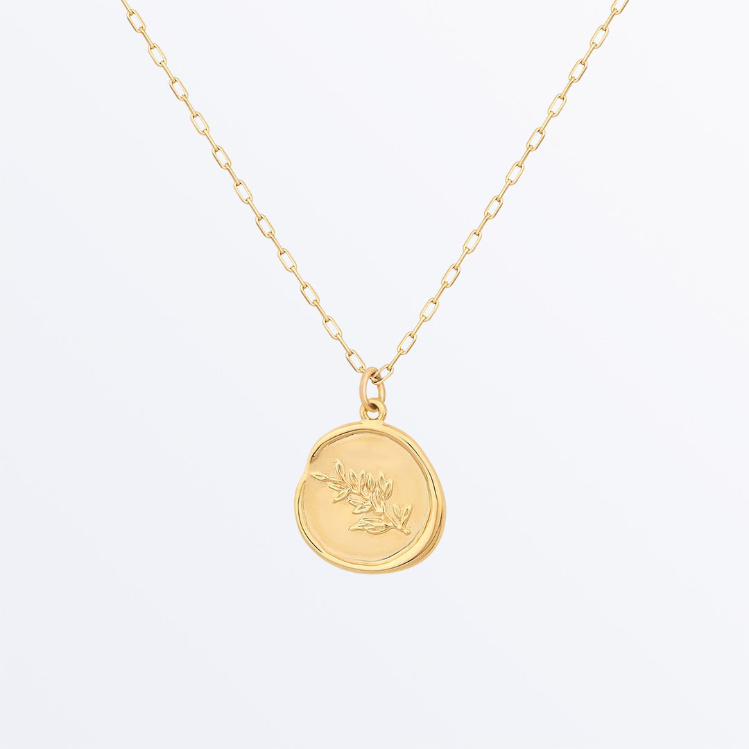 Ana Luisa Necklaces Pendant Necklaces Peace Necklace Positivo