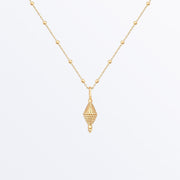 Ana Luisa Necklaces Pendant Necklaces Small Charm Necklace Shiva