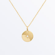 Ana Luisa Necklaces Pendant Necklaces Star Coin Stella Gold