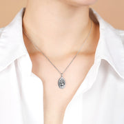 Ana Luisa Necklaces Pendant Sterling Silver Heart and Cross Necklace Ina