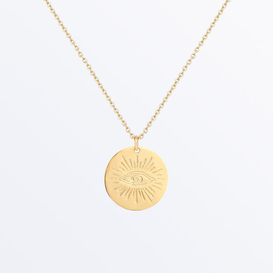 Ana Luisa Nekclace Pendant Neckalce Eye Coin Necklace Ojo