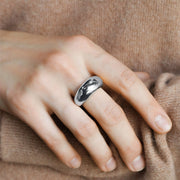 Ana Luisa Rings Band Rings Dome Ring Noa Silver
