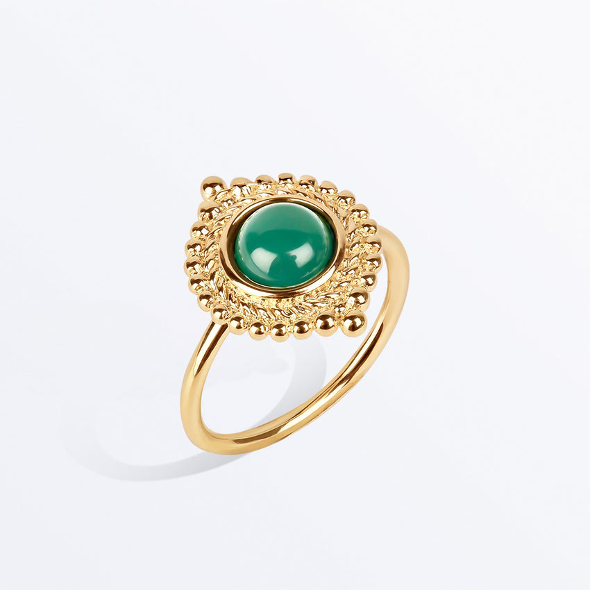Ana Luisa Rings Gemstome Rings Nito Gold