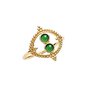 Ana Luisa Rings Gemstone Rings Iset Gold