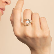 Pearl Ring - Eve
