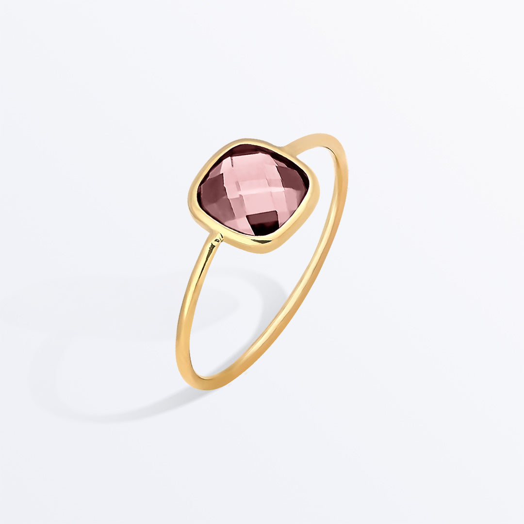 Ana Luisa Rings Gemstone Rings Stone Ring Palace Rosé Pink