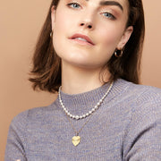 Ana Luisa Sets Layered Neckalces Pear Necklaces Kim Ser Gold Pearls