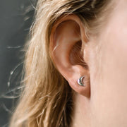 Ana Luisa Earrings  Studs Delicate Earrings Luna Silver