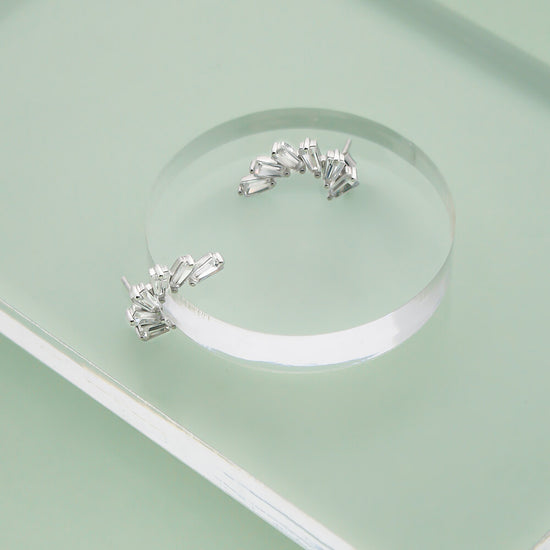 Sterling Silver Gisele Stud Earrings