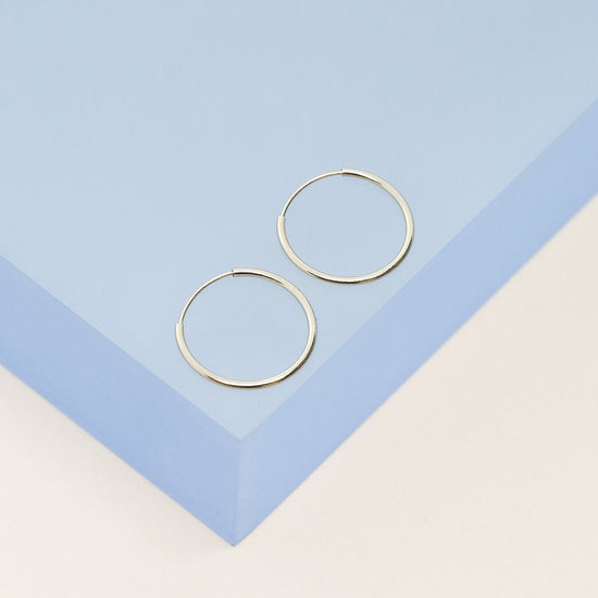 Small 14K Gold Hoop Earrings