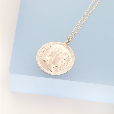 Coin Necklace - Napoleon