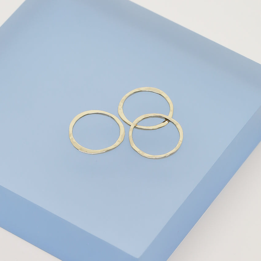 Ana Luisa Rings Stacking Rings Zoe Set Gold