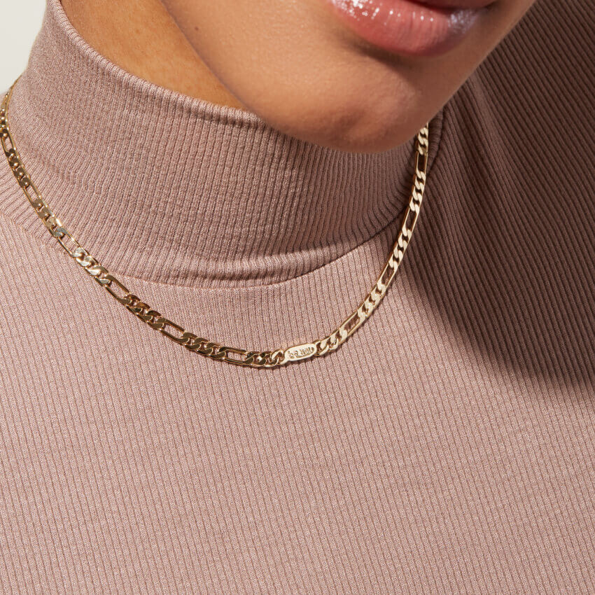 Ana Luisa Jewelry Necklace Curb Chain Jusuf