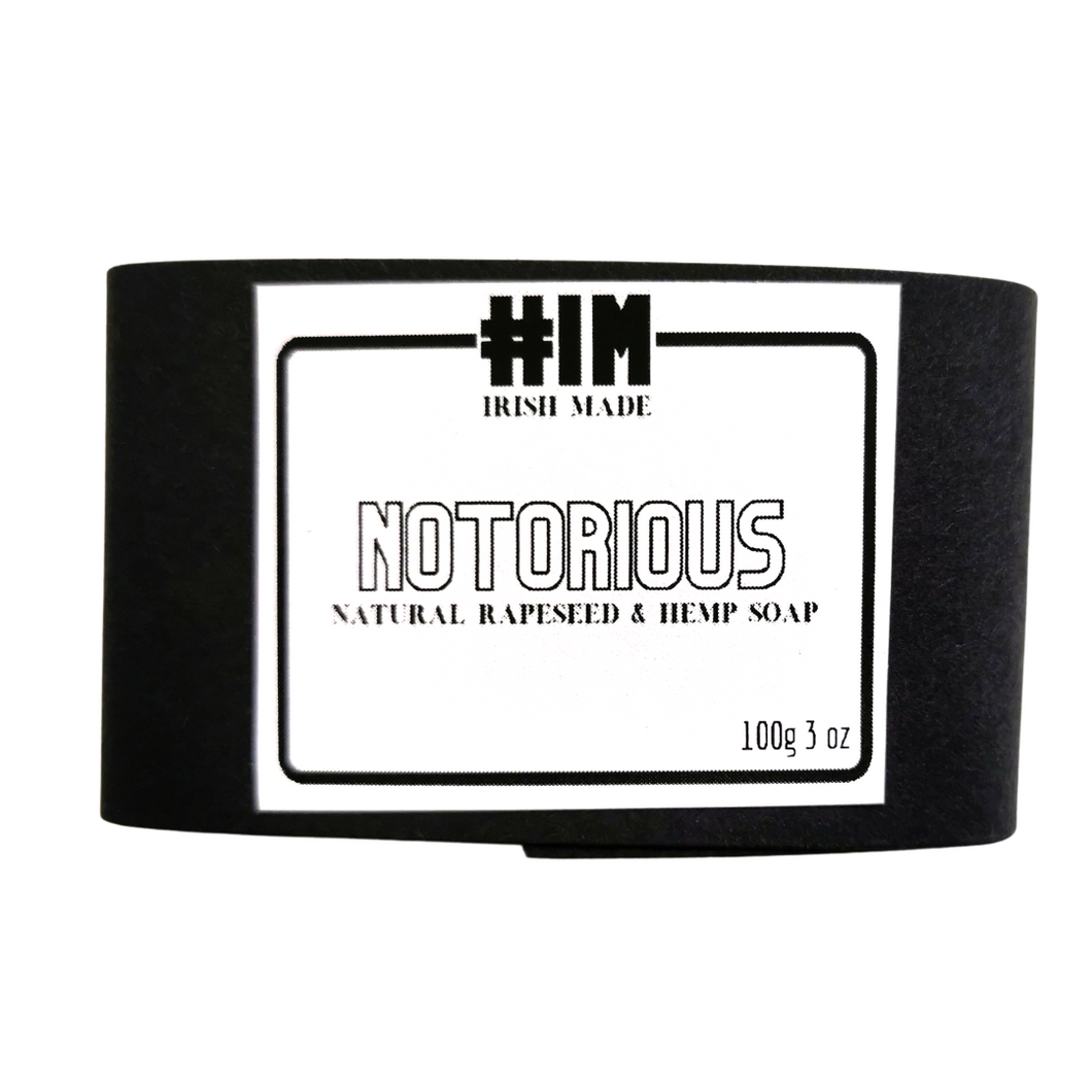 HIM Notorious - Goats Milk Hemp Soap