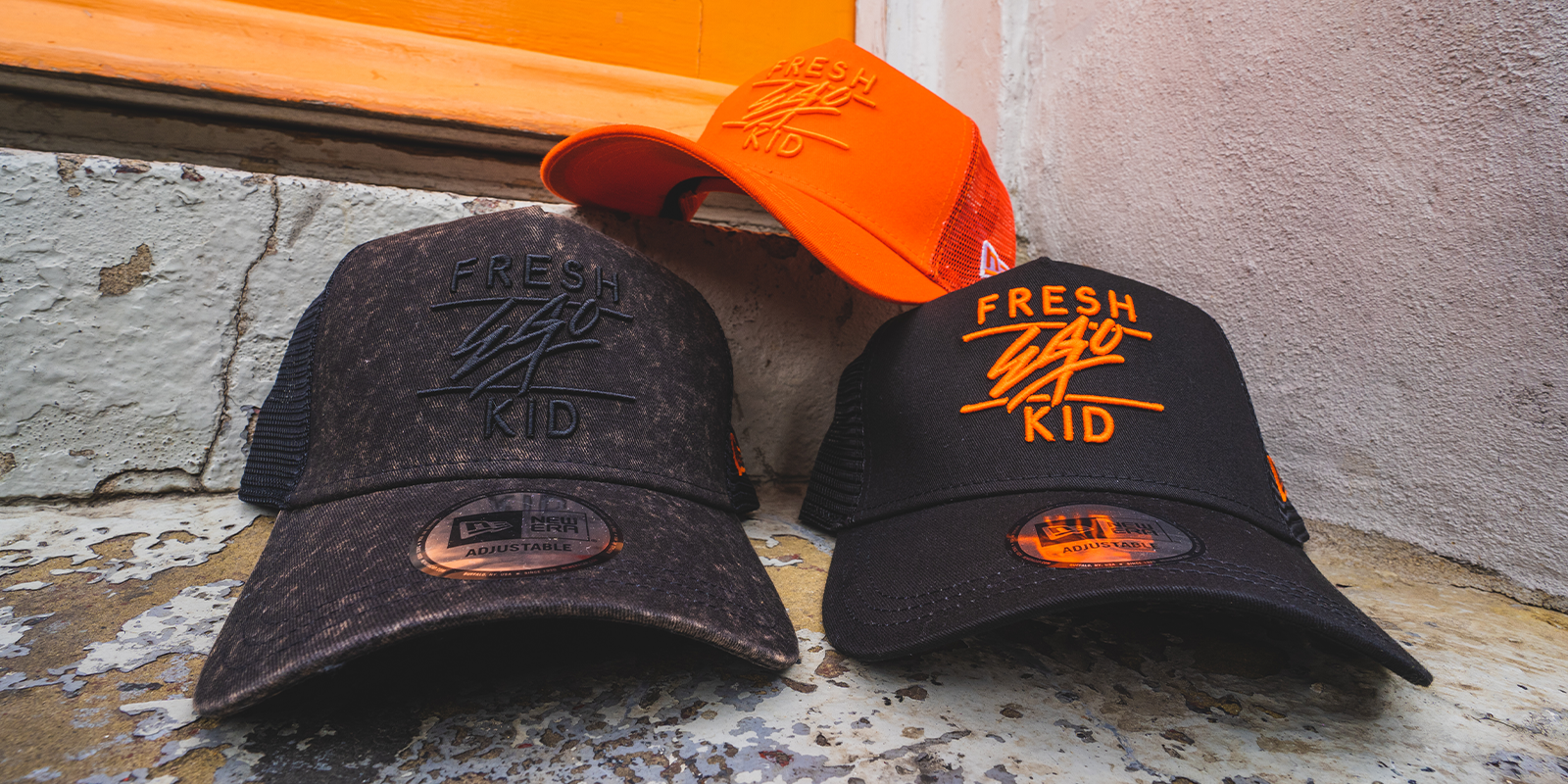 fresh ego kid new era