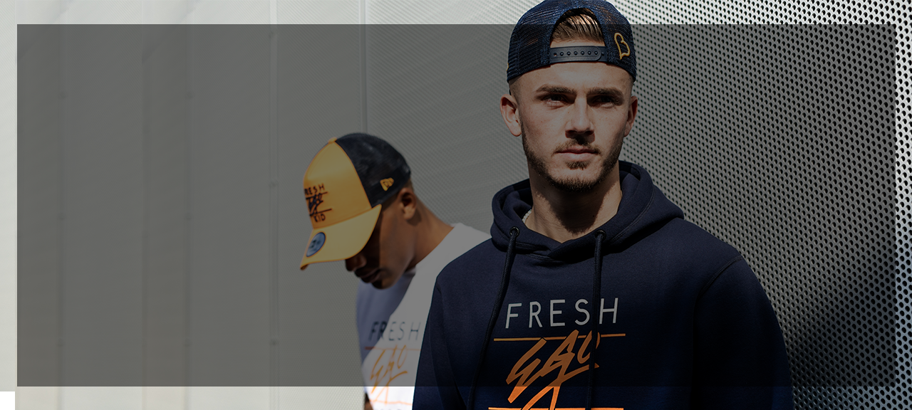 fresh ego kid x new era