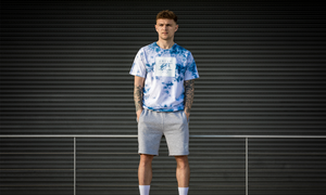 fresh ego kid tie-dye limited edition t-shirt
