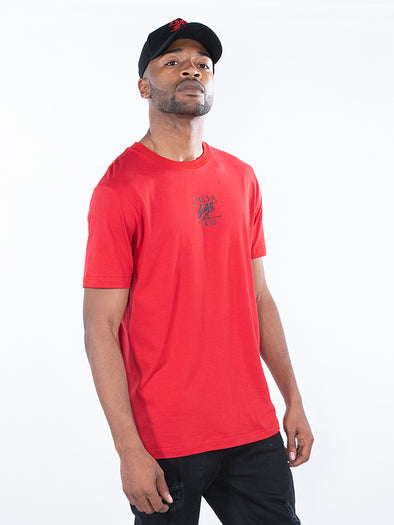 Fresh Ego Kid Red Central Logo T-Shirt