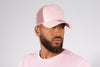 NEW ERA PINK A FRAME MESH TRUCKER
