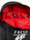 Fresh Ego Kid Black Heritage Logo Backpack