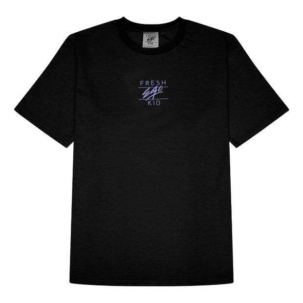 Central logo print t-shirt in black