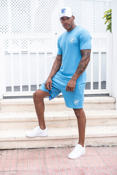 Summer Set Shorts - Baby Blue