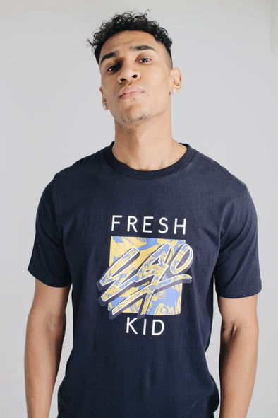 Graphic Logo T-Shirt - Navy