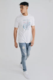 Graphic Logo T-Shirt - White