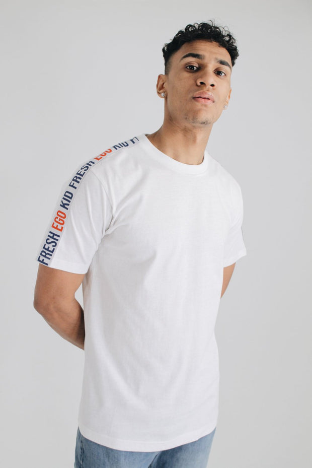 Taped T-Shirt - White