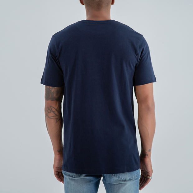 Small Box Logo T-shirt in Navy