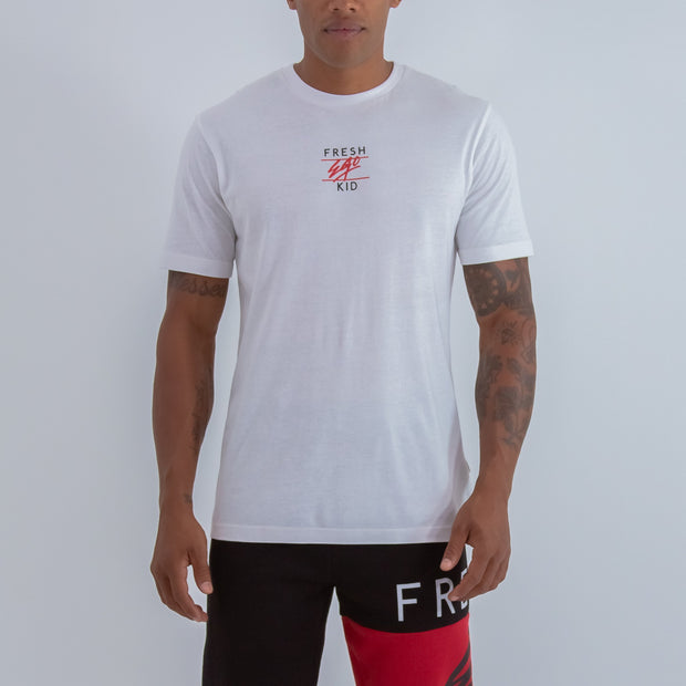 CENTRAL LOGO T-SHIRT IN WHITE