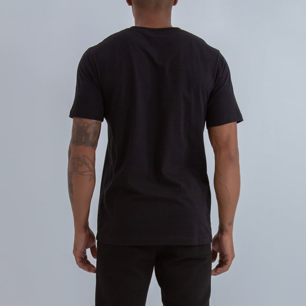 BIG HERITAGE LOGO T-SHIRT IN BLACK