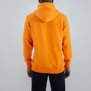 Central Logo Hoodie in Orange